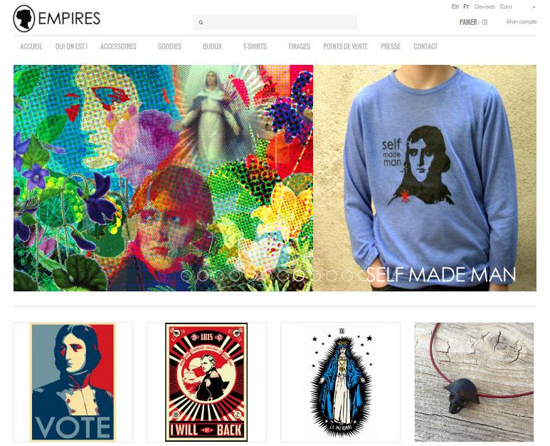 La boutique Empires à Ajaccio