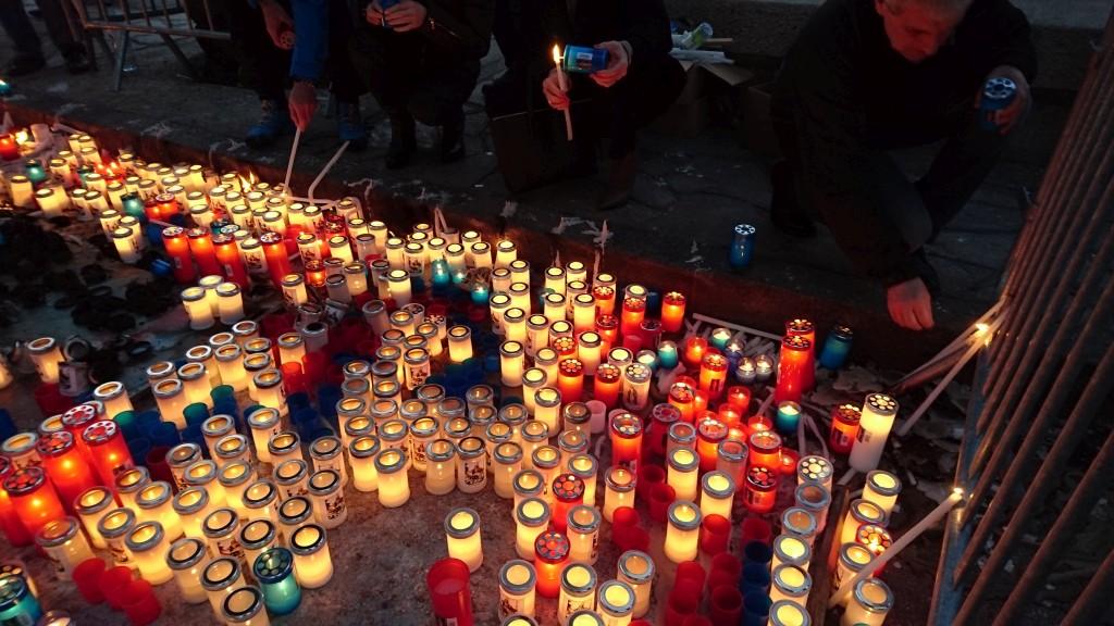 Les bougies de la Madunuccia