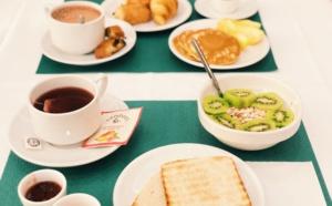 Le petit déjeuner de l'hôtel Napoleon
