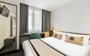 Les chambres de l'hôtel : confort et calme